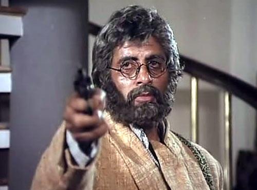 Amitabh Bachchan in Aakhree Raasta