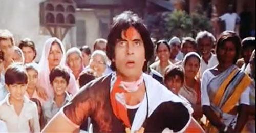 Amitabh Bachchan in Khud-Daar