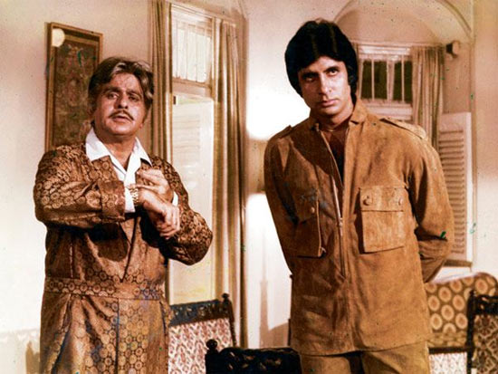 Dilip Kumar and Amitabh Bachchan in Shakti