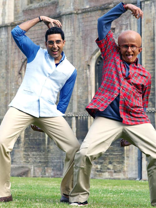 Abhishek and Amitabh Bachchan in Paa