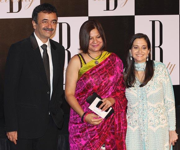 Rajkumar Hirani, Manjeet and Anupama Chopra