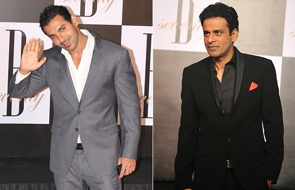 John Abraham and Manoj Bajpayee