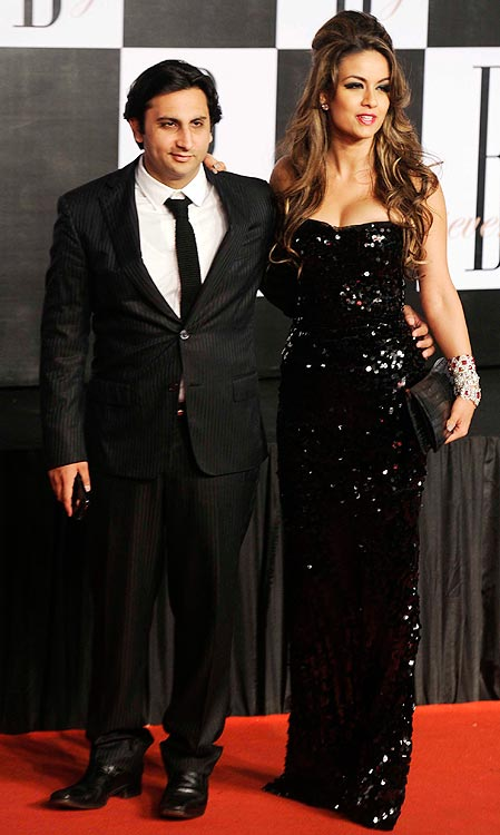 Adar and Natasha Poonawalla