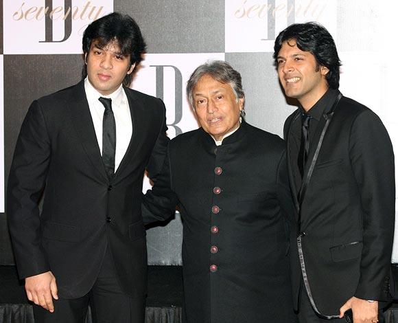 Amaan, Amjad and Ayaan Ali Khan