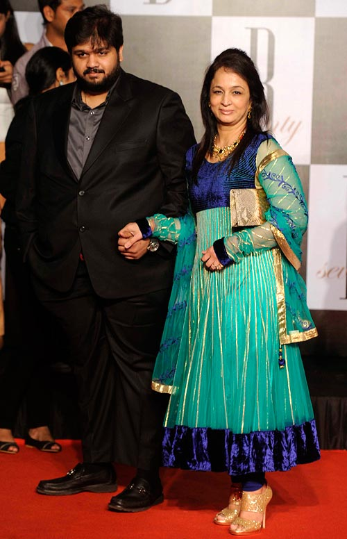 Rahul and Smita Thackeray