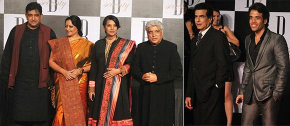Baba, Tanvi, Shabana Azmi, Javed Akhtar, Jeetendra and Tusshar Kapoor