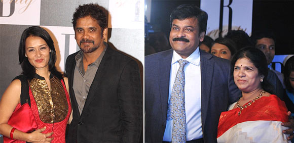 Amala and Nagarjuna, Chiranjeevi and Surekha