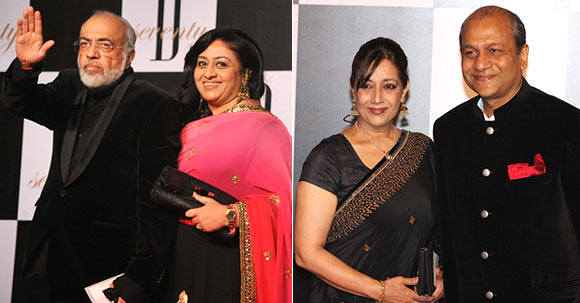J P Dutta and Bindiya Goswami, Anita Kaul and Siddharth Basu