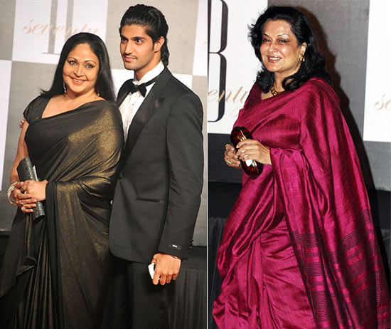 Rati Agnihotri, Tanuj Virwani and Moushmi Chatterjee