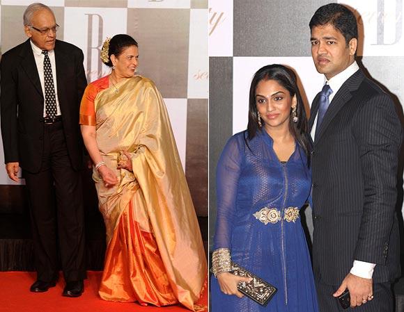 Krishnaraj, Vrinda, Shrima and Aditya Rai