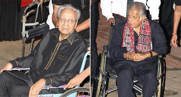 Pran and Shashi Kapoor