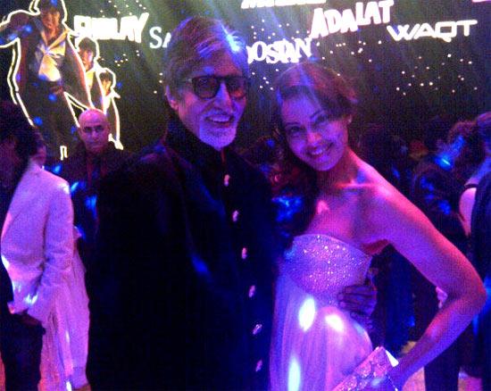 Bipasha Basu and Amitabh Bachchan