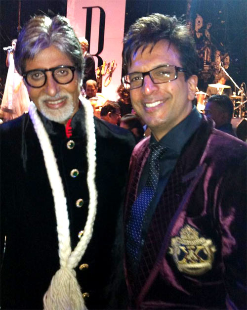 Amitabh Bachchan and Jaaved Jaaferi