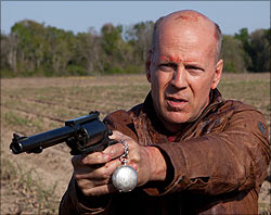 A scene from Looper