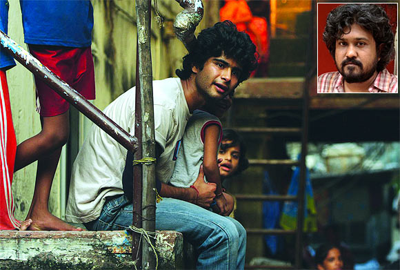 A scene from Peddlers. Inset: Vasan Bala