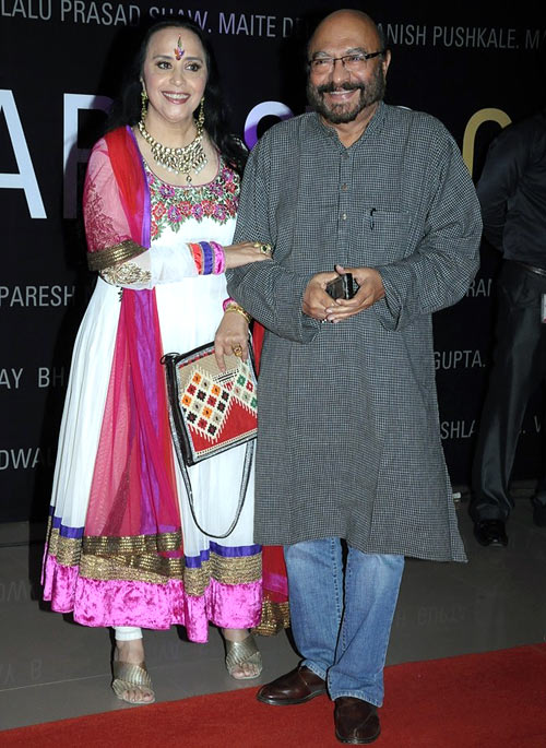Ila Arun and Govind Nihlani