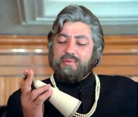 Amjad Khan in Kaalia