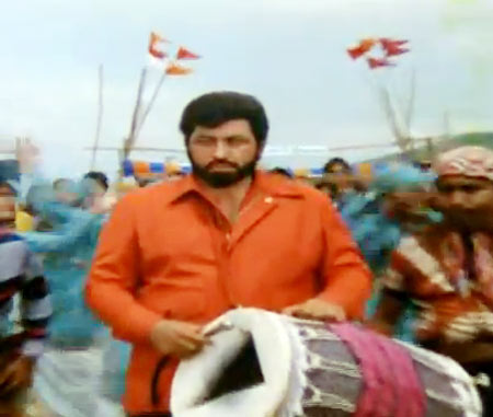 Amjad Khan in Barsaat Ki Ek Raat
