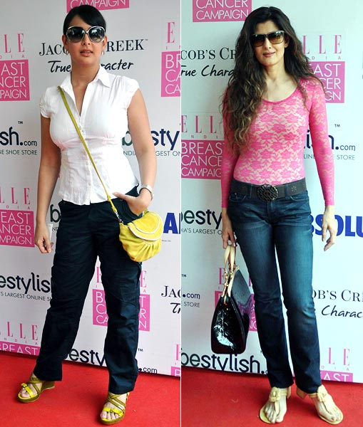 Preeti Jhangiani and Sangeeta Bijlani