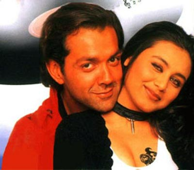 Bobby Deol and Rani Mukerji in Bichhoo