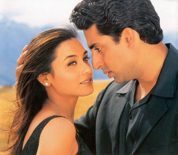 Rani Mukerji and Abhishek Bachchan in Bas Itna Sa Khwaab Hai