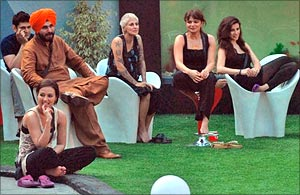 The Bigg Boss housemates