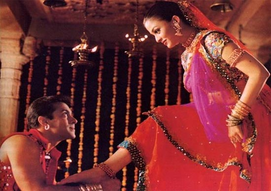 Salman Khan and Aishwarya Rai Bachchan in Hum Dil De Chuke Sanam
