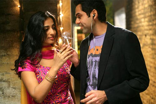 Mahie Gill and Abhay Deol in Dev D