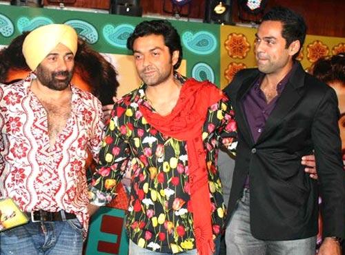 Sunny, Bobby and Abhay Deol
