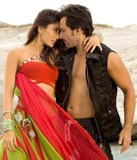 Kareena Kapoor and Saif Ali Khan in Tashan