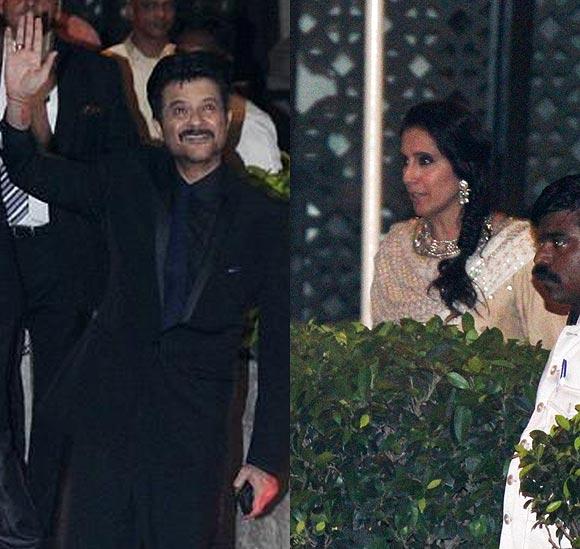Anil and Suneeta Kapoor