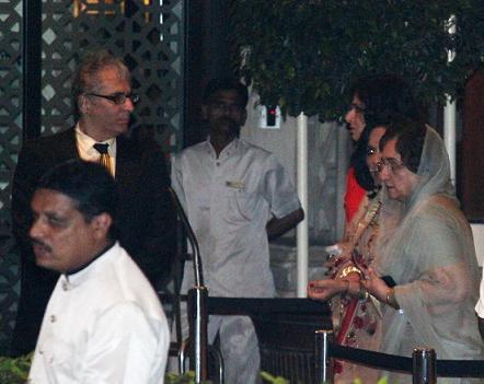 Aditya Raj Kapoor and Neela Devi