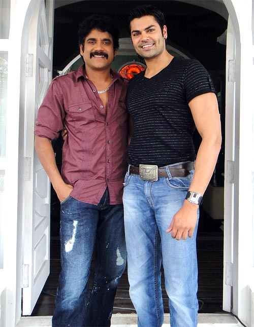 Akkineni Nagarjuna and Ganesh Venkatraman
