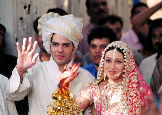 Karisma Kapoor and Sanjay Kapur