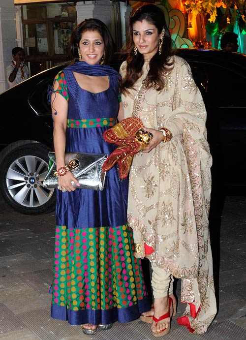 Krishika Lulla and Raveena Tandon