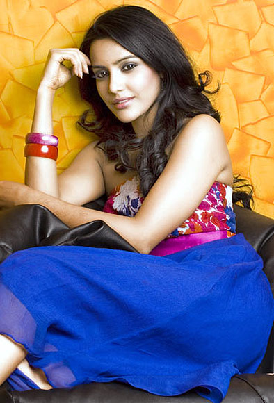 Priya Anand in Leader