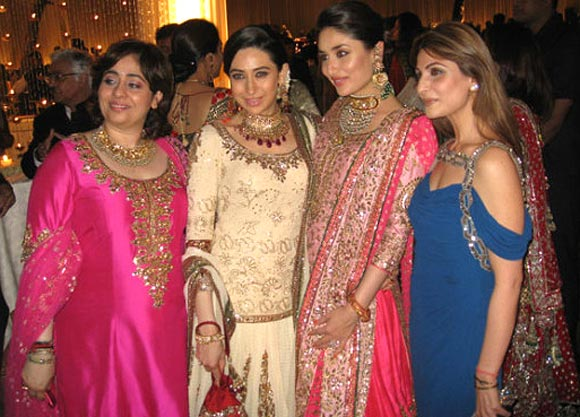 Madhur and Renu Bhandarkar with Kareena Kapoor