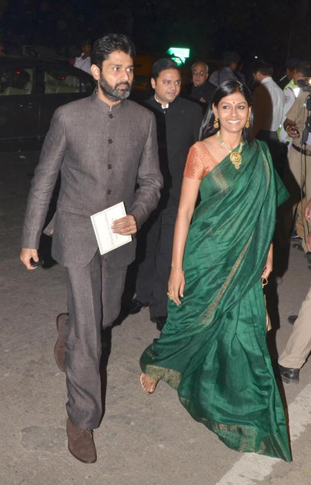 Subodh Maskara and Nandita Das
