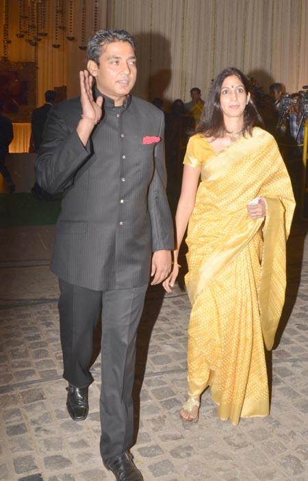 Ajay Jadeja and Aditi Jaitley