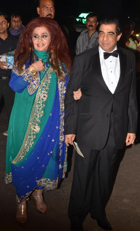 Shahnaz Hussain and RK Puri