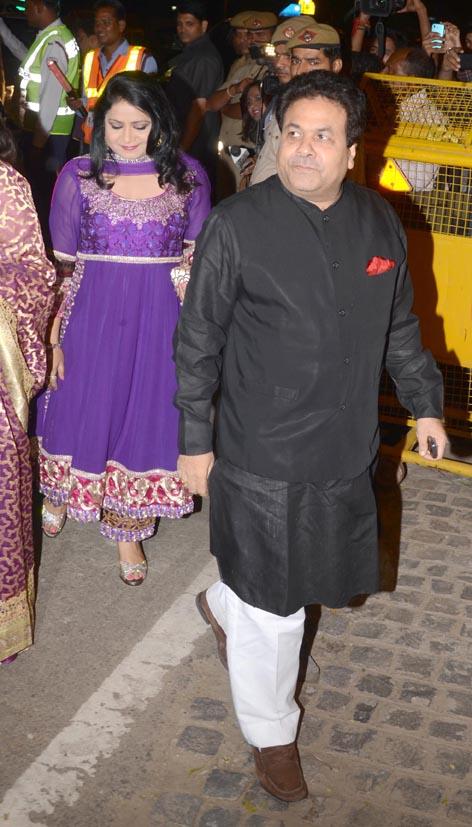 Rajiv Shukla and Anuradha Prasad