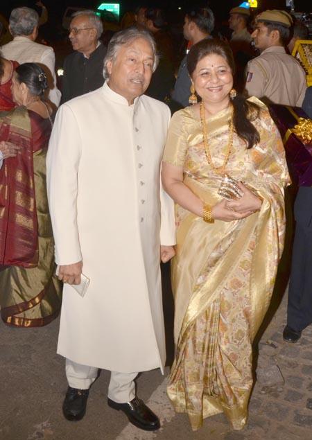 Amjad Ali Khan and Subhalakshmi Barooah
