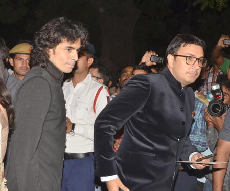 Imtiaz Ali (left)