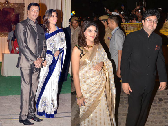 Madhur and Renu Bhandarkar, Aparna and Prasoon Joshi