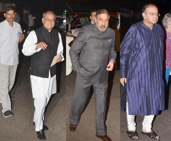 Digvijay Singh Anand Sharma and Arun Jaitley