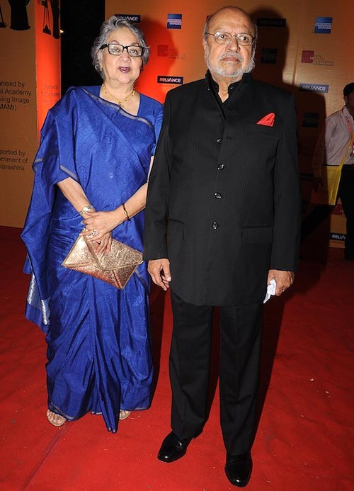 Shyam and Nira Benegal