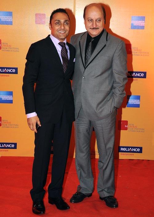 Rahul Bose and Anupam Kher