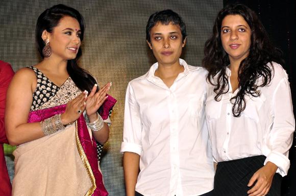 Rani Mukerji, Rema Kagti and Zoya Akhtar