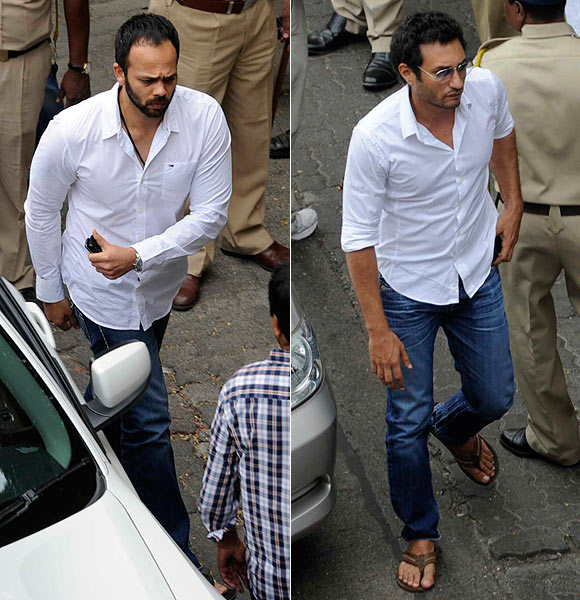 Rohit Shetty and Homi Adajania