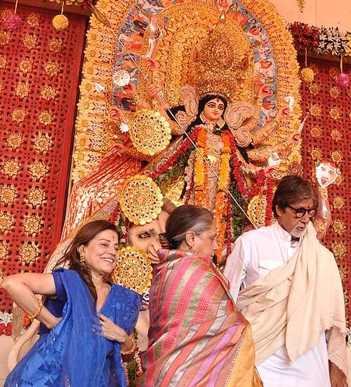 Swapna Mukherjee, Jaya and Amitabh Bachchan